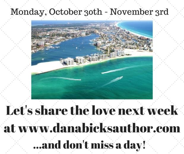 Share in my celebration next week!
