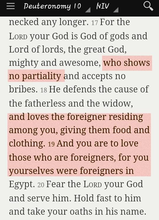 Ruin Racism bible verse