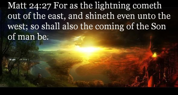 Facing East bible verse